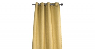 Abby Jacquard Eyelet Curtain, 140x300cm