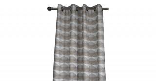 Bali Jacquard Eyelet Curtain, 140x300cm