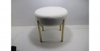 Grains 42X42 Velvet Stool