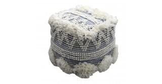 Corvus 40X40 Wool Pouf