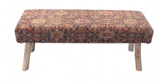 Edisto 120X40 Jacquard Bench
