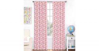 Rainbow 2Pc Curtain 140X240 Grey/Pink