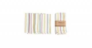 Felicity Square Woven Cotton Napkins, Set of 4