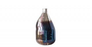 "Lesley 8"" Glass Balloon Vase"