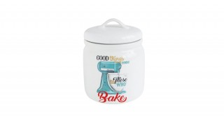 "Ceola ""Good Things Come To Those Who Bake"" Canister"
