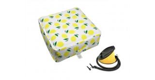 Lemons Outdoor Pouf & Pump  60X60X23Cm