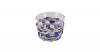 Rattan 6Pcs Gahwa Cup Blue 60 Ml