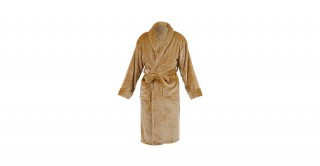 Soft Fleece Bed Robe Beige Medium