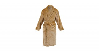 Soft Fleece Bed Robe Beige Large