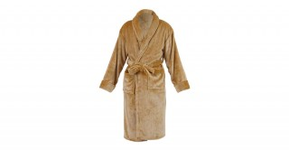 Soft Fleece Bed Robe Beige Extra Large