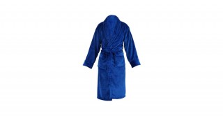 Soft Fleece Bed Robe Blue Medium