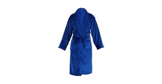 Soft Fleece Bed Robe Blue Large