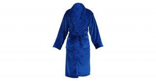 Soft Fleece Bed Robe Blue Double Xl