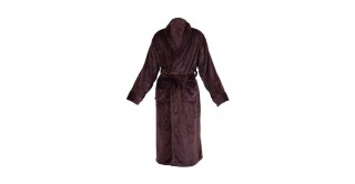 Soft Fleece Bed Robe Brown Large