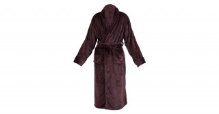 Soft Fleece Bed Robe Brown Double Xl
