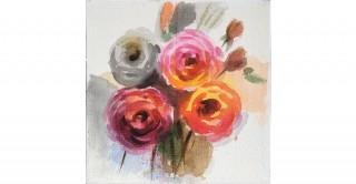 Rosa Handmade Oil Painting 40X40Cm