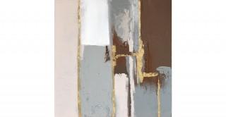 Linea Handmade Oil Painting 80X80Cm