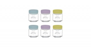 Kilner Set Of 6 Kids Jars 110Ml