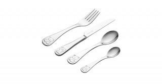 Vine Bertie 4Pc Kids Cutlery Set Giftbox