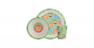 Viners Jungle 3Pc Kids Dinnerware