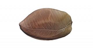 Leaf Centerpiece Plate Green 15 x 13 x 3 cm