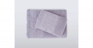 Nera Lilac Bath Sheet 90 x 150 cm