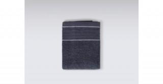 Roya Anthracite Face Towel 30 x 50 cm