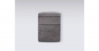 Roya Grey Bath Sheet 90 x 150 cm