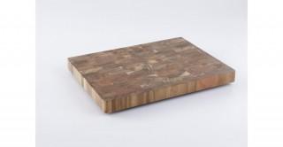 Teo Cutting Board 38 cm Brown