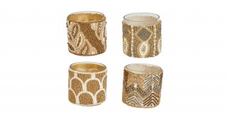 Beaded Tealight Holder ( Random 1 pc)