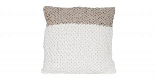 Chalky Crimp Velvet 50x50 Cushion
