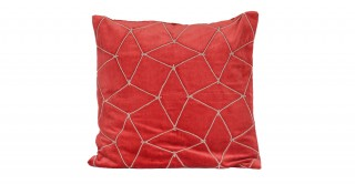 Mesh Velvet 50x50 Cushion