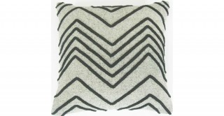 Chevron Cord 45X45 Applique Cushion
