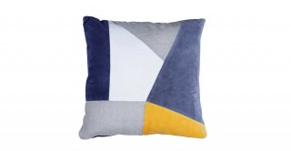 Angular 50X50 Patchwork Cushion