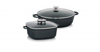 Kerros-A Set Of 3 Cookware
