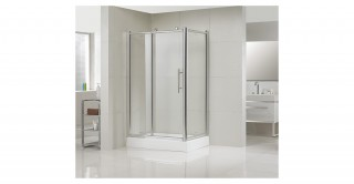 Bigroller Shower Door 120X80X190CM