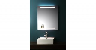 Claret Wall Mirror With Light