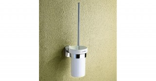 Spanning Toilet Brush Holder