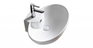 Carol Ceramic Semi Pedestal Basin
