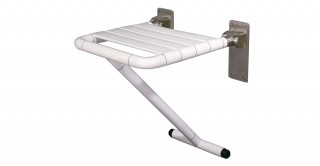 Tyler Stainless Steel Handicap Shower Seat