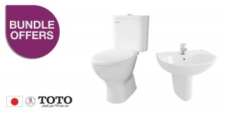 Toto Package Of  W.C & Wash Basin