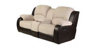Perth 2 Seater Rocking Recliner - Beige