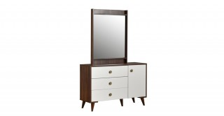Royalqueen Dresser With Mirror