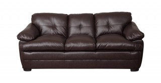 Davy 3 Seater Sofa Brown