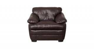 Davy 1 Seater Sofa Brown