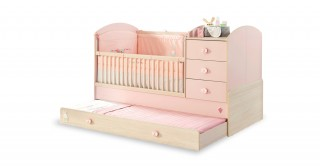 Cilek Baby Girl Cot Bed