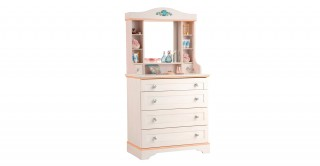 Cilek Flower Kids Dresser With Mirror