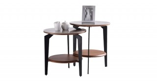 Zita End Table (Left Table)