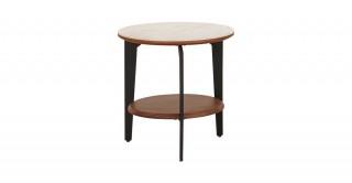 Zita Ceramic End Table, 45 Cm H