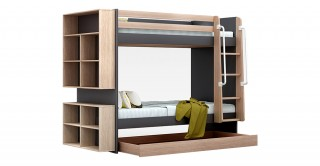 George Grey Kids Bunk Bed